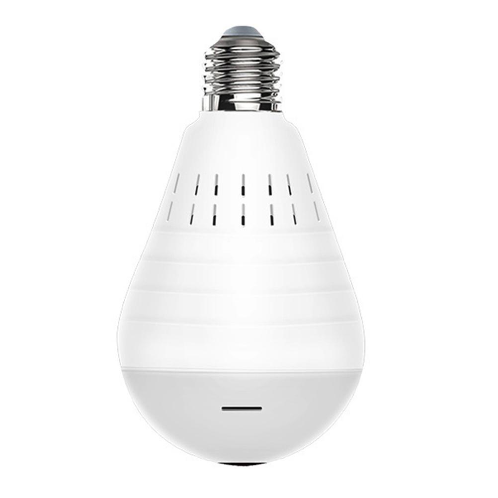 1080P Light Bulb Camera 360 Degrees Panoramic Camera WiFi Security Camera Indoor Outdoor Wireless Video Surveillance IP Camera