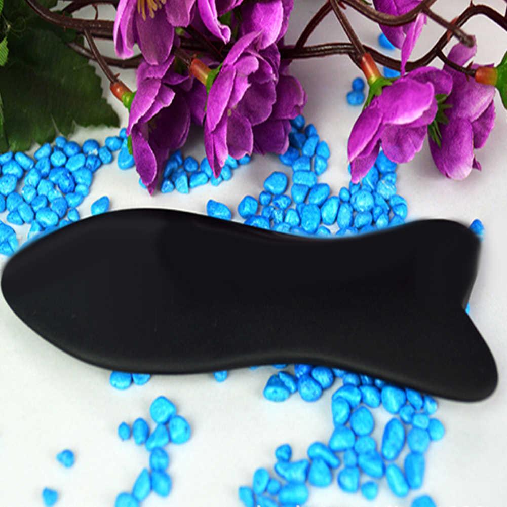جديد الأسماك شكل حجر الصينية Guasha مجلس لوحة الوخز بالإبر تدليك الرعاية الصحية