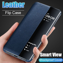 Luxury Original Smart Window Flip Cover for Samsung Galaxy