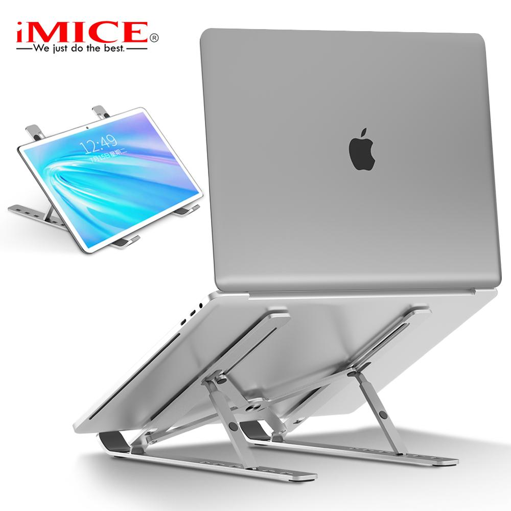 Portable Laptop Stand Aluminium Notebook Stand Foldable Laptop Holder Adjustable for Macbook Air Pro Vertical Laptop Holder Legs