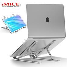 Laptop-Stand Vertical Macbook Foldable Aluminium for Air-Pro