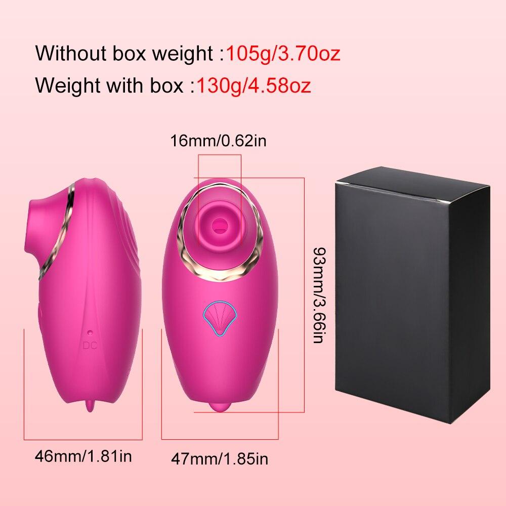 vagina sucker vibrator weight