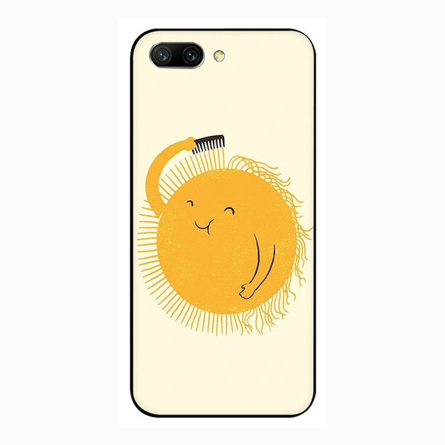 sun Soft Silicone Phone Case for Huawei Honor 6A 7A Pro 7C X 8C 8X 8 9 10 Lite view 20 9X Pro