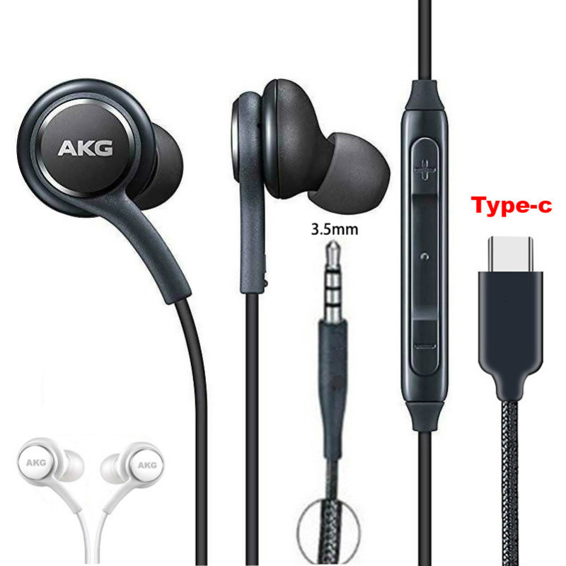 Original For Samsung 3.5mm Wired Headphones IG955 In ear Earphone With Microphone Volume Control Headset for AKG Galaxy S8 S7 S6