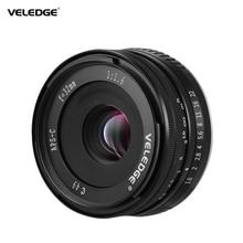 VELEDGE סופר גבוהה רזולוציה 32mm F/1.6 גדול צמצם מצלמה ראש עדשת MF עדשה 0.25m עבור Fuji fujifilm X הר פוג י X A1
