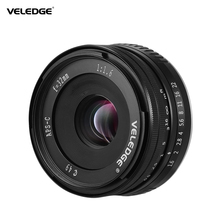 VELEDGE Lentes de cámara de gran apertura MF 1,6 m para Fuji Fujifilm x mount Fuji X A1, Super alta resolución, 32mm F/0,25