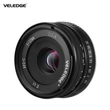 VELEDGE Super Hoge Resolutie 32mm F/1.6 Groot Diafragma Camera Prime Lens MF Lens 0.25m voor Fuji fujifilm X Mount Fuji X A1