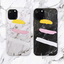 Luxury Marble Graffiti Phone Case For iPhone 8 7 6 6S Plus Ultra Thin Soft TPU Case For iPhone 11 Pro Max X XR XS Max Cover new for iphone 11 pro max case xs max xr for iphone x 6 7 8 plus 6s luxury vintage pu leather back ultra thin case cover coque