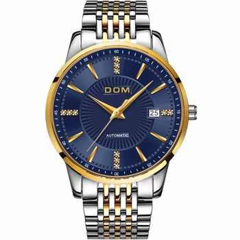DOM Mannelijke Automatische Mechanische Zaken Horloge Mannen Luxe Merk Casual Horloges mannen HorlogeKlok RelogioMasculino M-79G