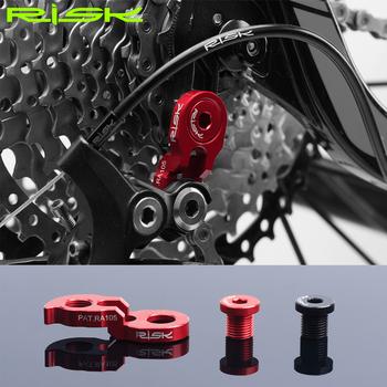 1PC Risk górska droga rowerowa rama rowerowa przerzutka tylna Link wieszak Extender rozszerzenie do kasety biegów ogon hak Extender tanie i dobre opinie Przerzutki RA 105
