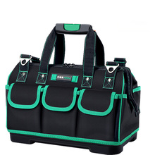 Tool Bag Portable Electrician Special Tool Set Multi-function Maintenance Installation Canvas Large Thickening Kit  Tool Pouch 16pcs set multifunction tool kit household tool set hardware tool maintenance electrician carpentry tools sets k74
