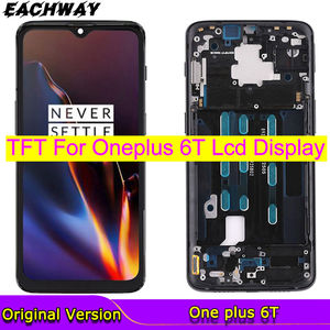 TFT Screen For OnePlus 6T LCD Display Touch Screen Digitizer Assembly One Plus 6 T A6010 A6013 Replacement For OnePlus 6 T LCD