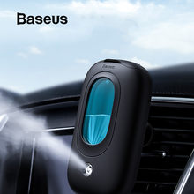 BASEUS Car Air Humidifier แบบพกพา Diffuser กับ Magnetic Car Air Vent Mount ผู้ถือน้ำมันหอมระเหย Air Freshner เครื่องฟอกอากาศมินิ(China)