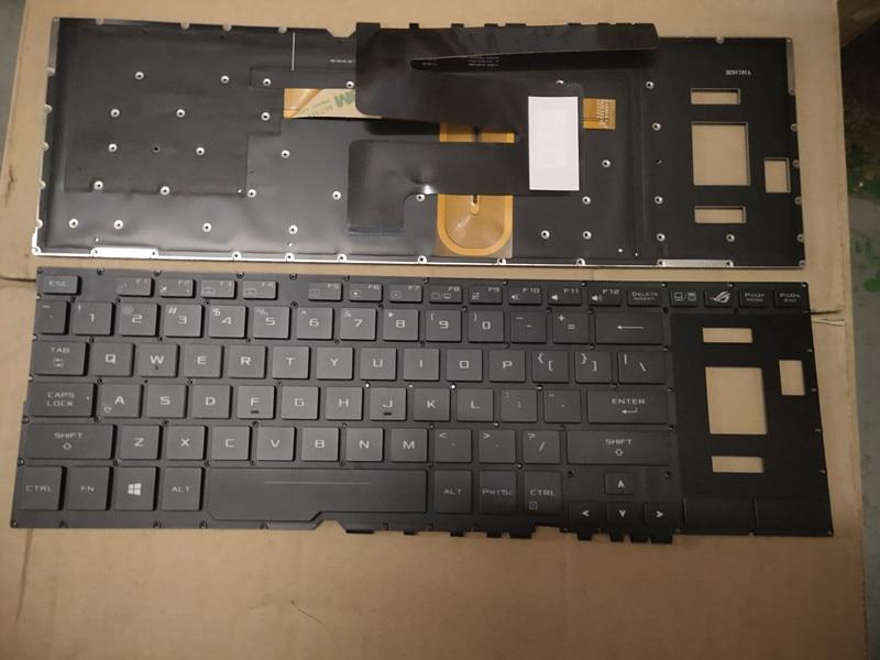 Laptop Keyboard for ASUS GX501 GX501GI GX501VIK GX501VSK Black FR France
