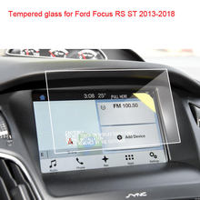 Protetor de tela de vidro temperado, 8 Polegada cps para ford focus rs st sync2 sync3 2013-2018