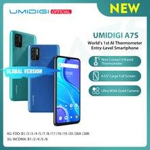 In-Stock UMIDIGI A7S Smart Phone 6.53″ Screen 32GB 4150mAh Triple Camera Global Version Cellphone Infrared Temperature Sensor