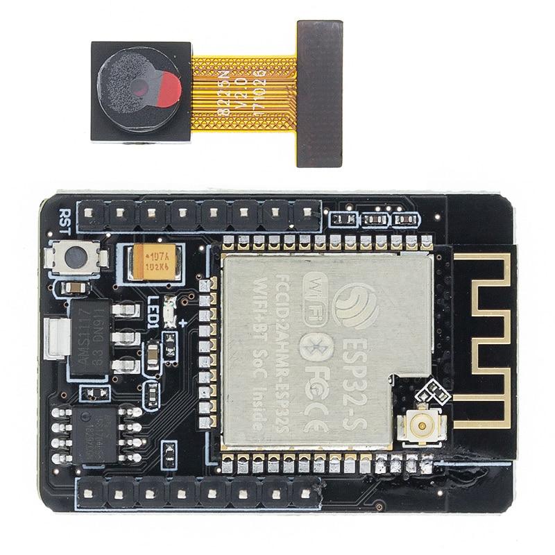 ESP32 CAM WiFi модуль ESP32 серийный для WiFi ESP32 макетная плата 5V Bluetooth с OV2640 модуль камеры Nodemcu Интегральные схемы      АлиЭкспресс