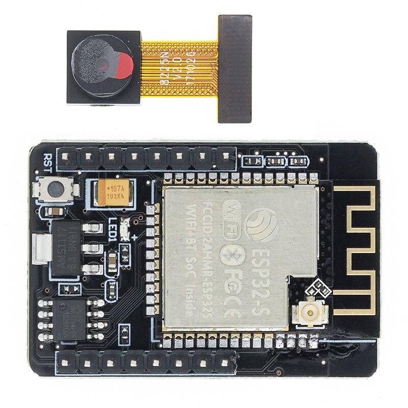 ESP32-CAM WiFi модуль ESP32 серийный для WiFi ESP32 макетная плата 5V Bluetooth с OV2640 модуль камеры Nodemcu