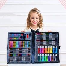 Детский набор гуашей для рисования акварелью Подарочная коробка