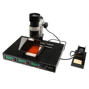 Image 5 - 認可 PUHUI T 862 IRDA SMD & BGA IR リワークステーション T 862 IRDA はんだ溶接機 T862 赤外線 SMT 溶接機 T 862
