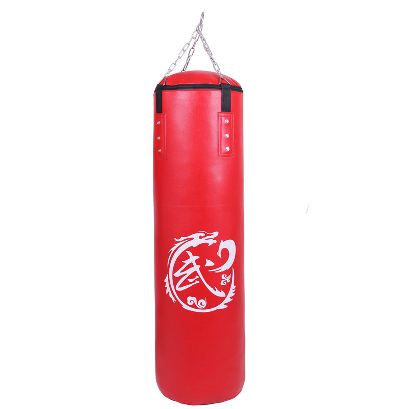 Black Red Boxing Punching Bag Empty Core Sports Sparring Gym Explosion Proof Heavy Musculation Sandbag