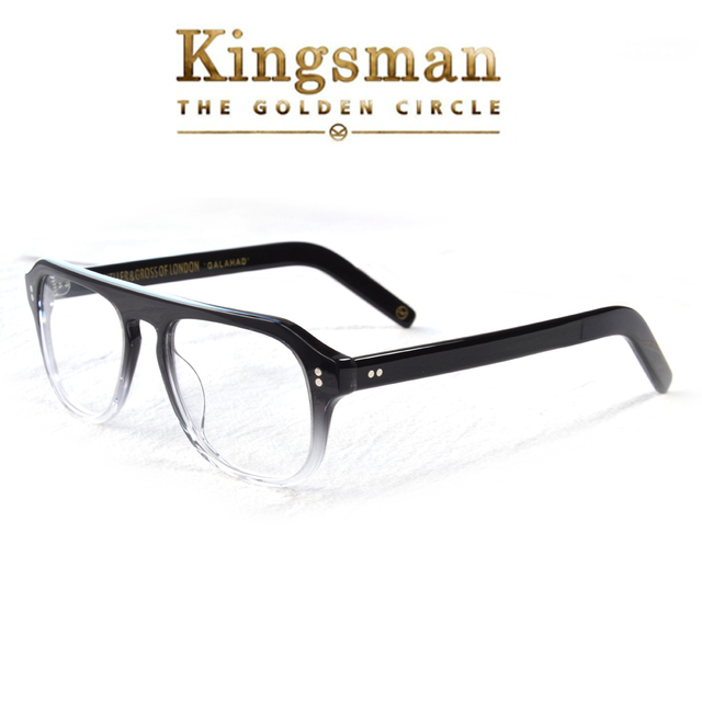 Kingsman2 The Golden Circle Optical Glasses For Man Acetate Frame Glasses Eyewear