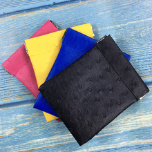 Porte-monnaie pour femmes, couleur unie, Mini portefeuille pour enfants, sacs à main en cuir synthétique polyuréthane, petit portefeuille pour petites choses, 2019