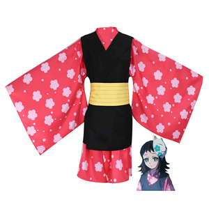 Image 5 - Anime Costume Demon Slayer Cosplay Tanjirou Kamado Cosplay Costume Kimetsu no Yaiba Men Kimono Costume Halloween
