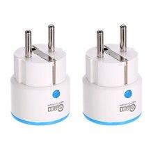 NEO COOLCAM NAS-WR01ZE 2 PÇS/LOTE Zwave Tomada Plugin Smart Power Plug UE Tomada de Automação Residencial Inteligente Sistema de Alarme home