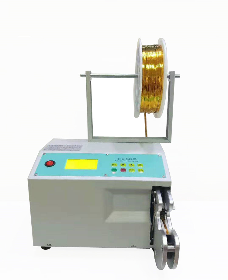 Spiral Wire Binding Machine For Bread Snack Food Packing Tying Machine