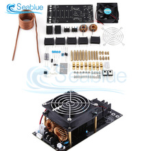 1000W 20A ZVS Low Voltage Tesla Coil Induction Heating Board Module DIY Kit PCB Board Flyback Driver Heater With Cooling Fan