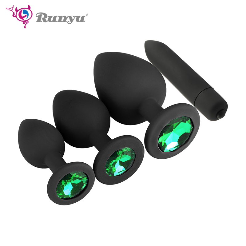 Runyu Anal Vibrator For Women Cunt Butt Plug Anal Plug Anal Toys For Sex Shops  Adult Toys For Men/Women Anal Juguetes Eroticos