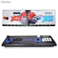 Pandora 3D Arcade Box 2448 en 1 enregistrer la fonction zéro retard 8 boutons Joystick contrôleur PCB 134 pièces 3D jeux rétro Arcade Console