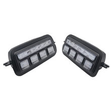 2Pcs Applicable To Lada Niva 4X4 1995  Led Daytime Running Light with Turn Signal Light Drl Car Headlight Replacement Parts(China)