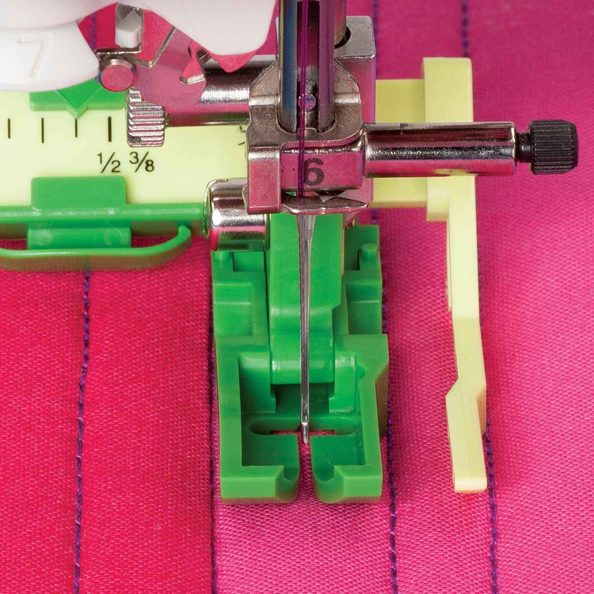The Ultimate Quilt 'N Stitch Presserเท้าสำหรับจักรเย็บผ้าLow Shank # PSF-C01