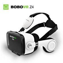 Bobovr z4 VR Box Virtual Reality Helmet Goggles 3D VR Glasses Mini Google Cardboard VR Box 2.0 BOBO VR for 4-6' Mobile Phone