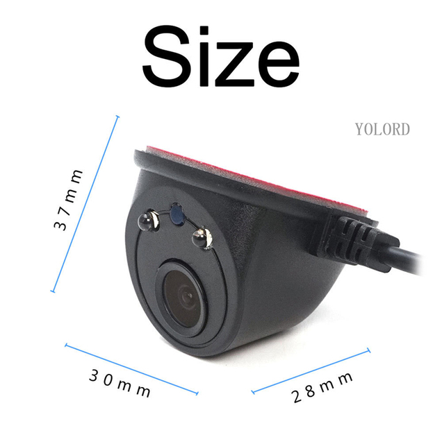 Wifi left and right side rear view vehicle shockproof car dv dvr camera