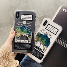 Beautiful Scenery Silicon Phone Case For iphone XS Max Case For iphone XR X XS 6S 6 7 8 Plus Ultra Slim Soft TPU Cases Cover цена