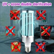 E27 Ultraviolet Led Germicida Lamp Disinfecting Light UV LED Disinfection Bulb 110V UVC 220V Bactericidal 60W