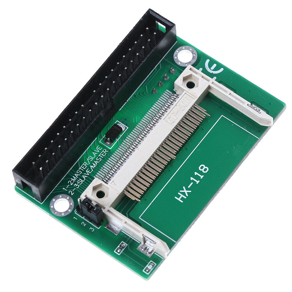 1pc Single Compact Flash CF to 3.5 IDE 40Pin Male adapter Card  IS