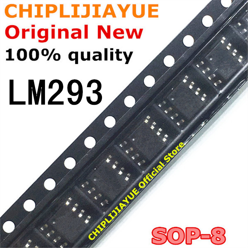 10PCS LM293 SOP8 LM293DR SOP LM293DT SOP-8 SMD New And Original IC Chipset