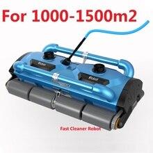 Robótico automático da piscina do equipamento da limpeza da piscina do aspirador do robô da parede de escalada para a grande piscina 1000-1500m2