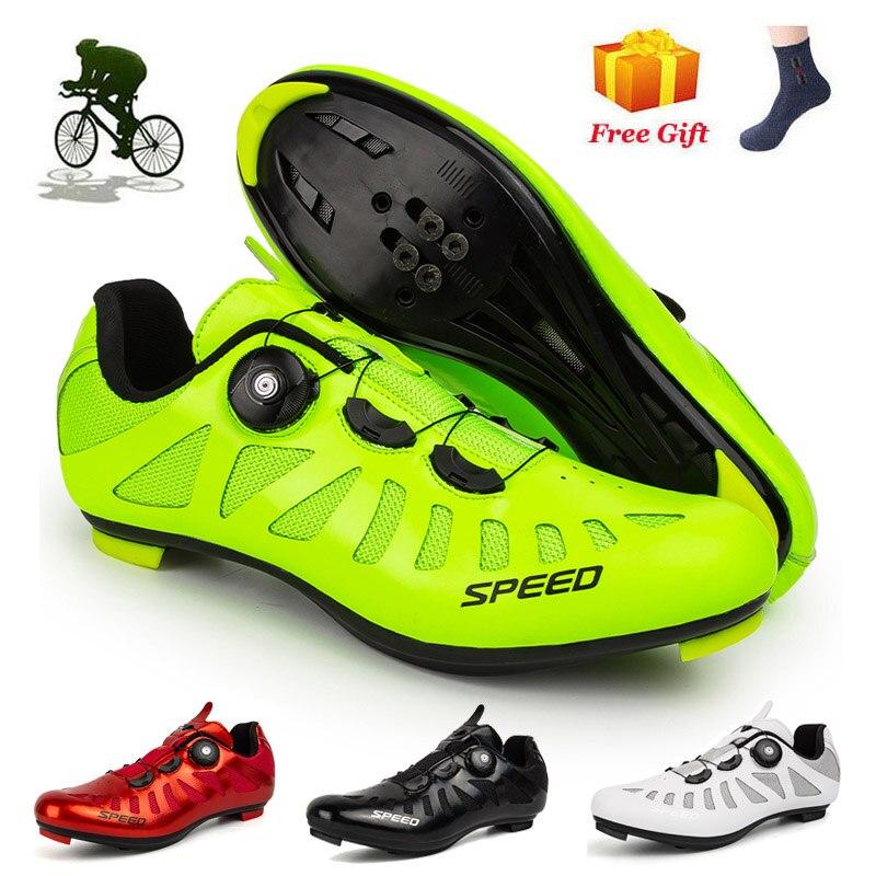 2020 sapatilha ciclismo mtb велосипедные туфли Для мужчин на открытом воздухе MTB велосипедная обувь высокого качества с сглаживатель перепадов напряже...
