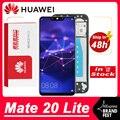 Оригинальный сменный дисплей 6,3 дюйма для Huawei Mate 20 Lite, ЖК-дисплей, сенсорный экран, дигитайзер в сборе для дисплея Mate20 Lite