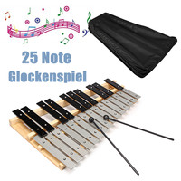 25 Note Glockenspiel Xylophone Educational Musical Instrument Mallet Percussion Gift Kids Educational Instrument Carrying Bag