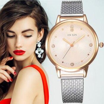 Fashion Women Watch Thin Plastic Band Analog Quartz Wristwatch Ladies Sport Watches Relogio Feminino Montre Femme Reloj Mujer