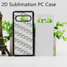 2D Sublimation Plastic Case For Samsung Galaxy S8 S9 S10 S20 Plus Ultra Note 8 9 10 Blank Printed Cover Metal Sheet 10pcs/lot