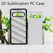 2d sublimação caso plástico para samsung galaxy s8 s9 s10 s20 plus ultra nota 8 9 10 em branco impresso capa de metal folha pçs/lote