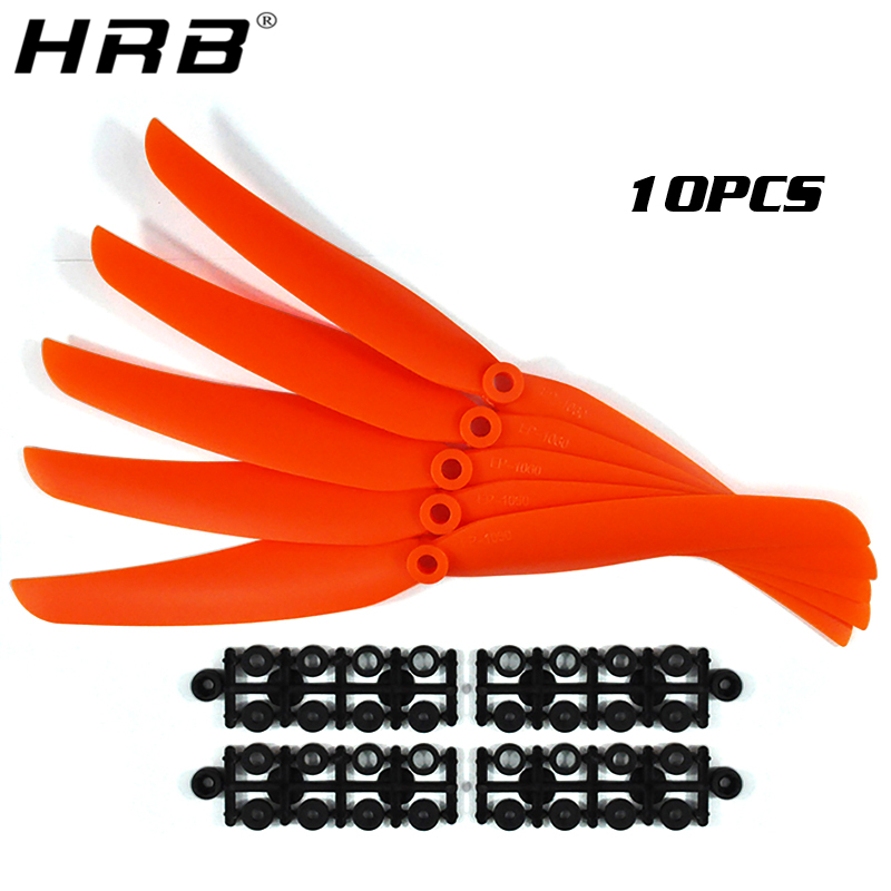 10PCS RC Parts <font><b>Propellers</b></font> Blade Prop 5030 5035 <font><b>6035</b></font> 7035 8040 8060 9050 1060 1160 Direct Drive Paddle 6mm For GWS Motor Airplane image