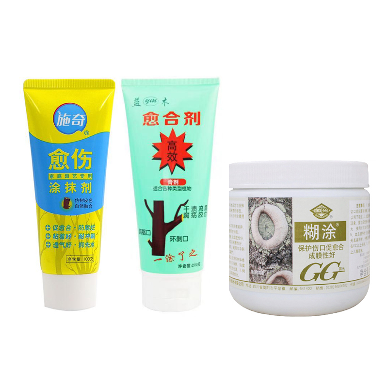 500g Fruit Tree Wound Healing Sterilization Grafting Incision Repair Cream Sealer For Flowers Pruning Bonsai Tool Preventing Rot